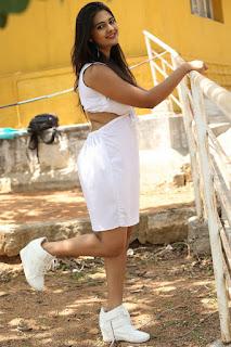 Actress Neha Deshpande Pictures at Anu Vamsi Katha Opening 0096
