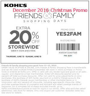 Kohls coupons december