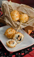 Chicken Teriyaki Sushi Balls