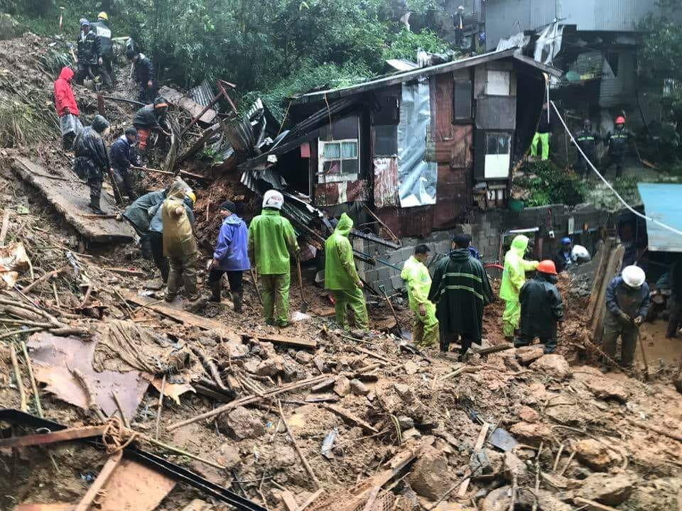 Massive landslides in Cordillera caused deaths
