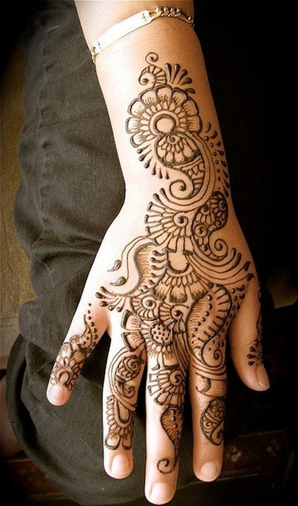 Mehndi Art Designs: Rajasthani Mehndi Designs For Hands