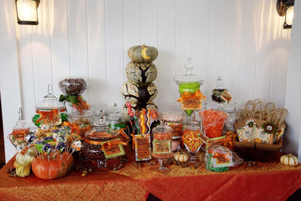 Fall Wedding Candy Buffet Ideas: The Domestic Curator: PUMPKIN-PALOOZA: A CARVING PARTY
