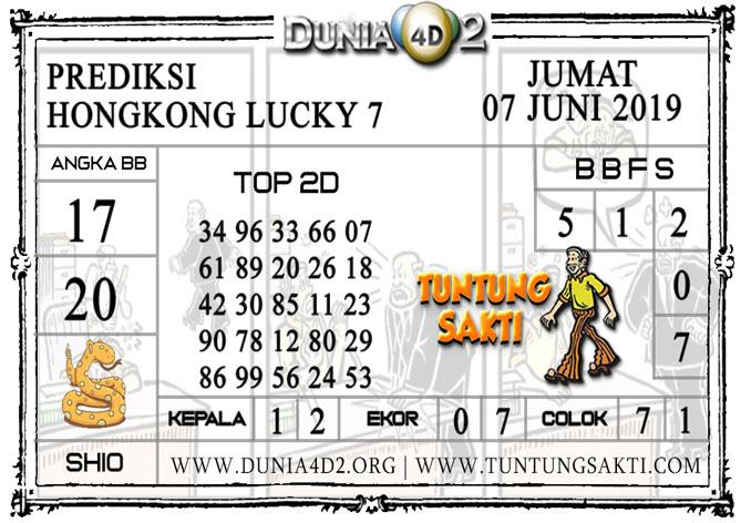"""Prediksi Togel """"HONGKONG LUCKY 7"""" DUNIA4D2 07 JUNI 2019"""