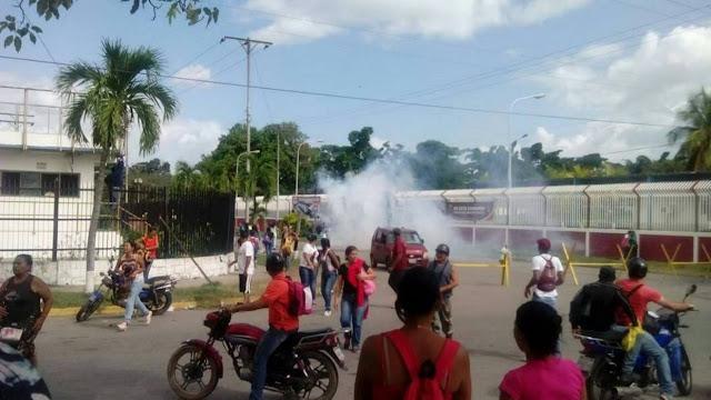 90 detenidos durante protestas en Aragua fueron trasladados a Barquisimeto