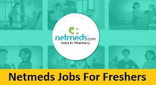 Netmeds Jobs