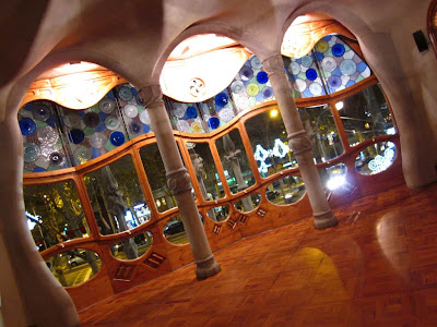 Inside Casa Batlló in Barcelona