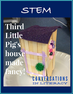 STEM Little Pig House