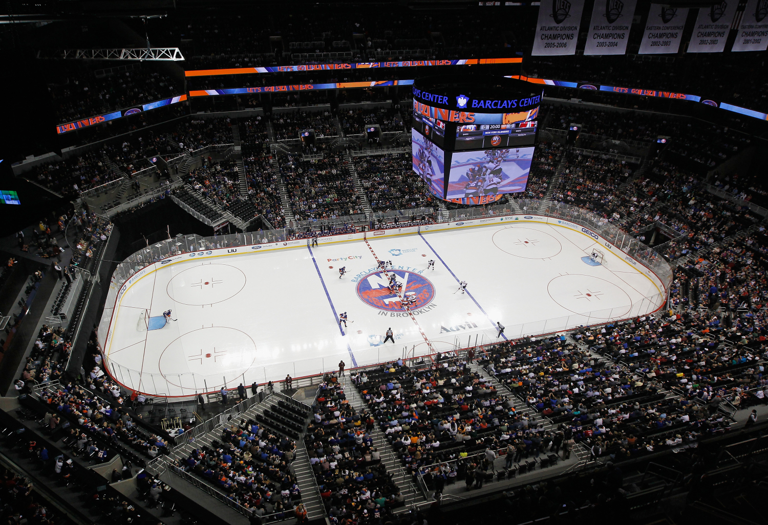 New york by rail take amtrak to see the top hockey teams for The barclay