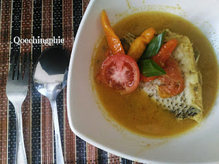 Resep dan Cara Membuat  Ikan Gurame Bumbu Kuning