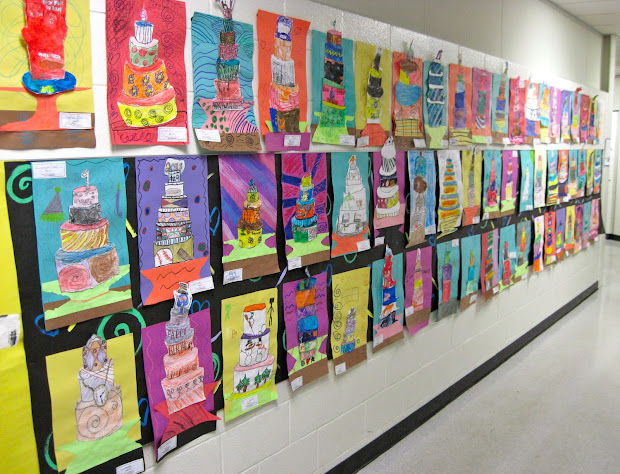 Love Art Harris Elementary Show 2013