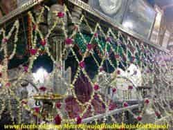 Shrine of Khwaja Moinuddin Chishty urf Khwaja gareeb nawaz also known as sultan e hindustan located in ajmer city, rajasthan state, india, khwaja garib nawaz biography, khwaja moinuddin chishti biography