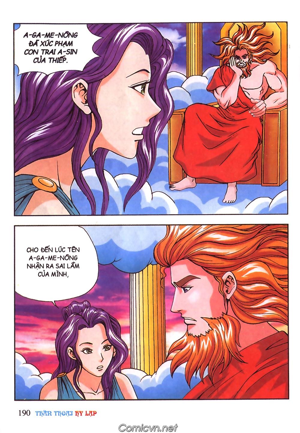 Thần Thoại Hy Lạp Màu - Chapter 56: Hai vị tướng và hai mỹ nữ - Pic 43