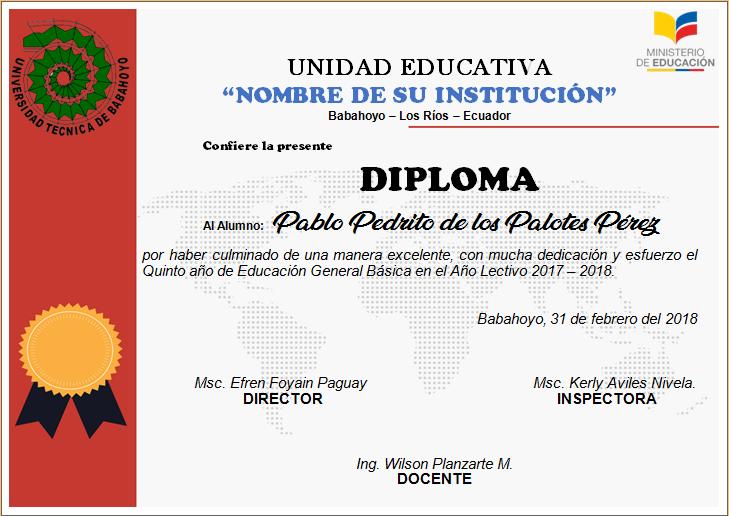 diplomas editables en word para imprimir ayuda docente