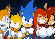 Sonic Anime Jigsaw