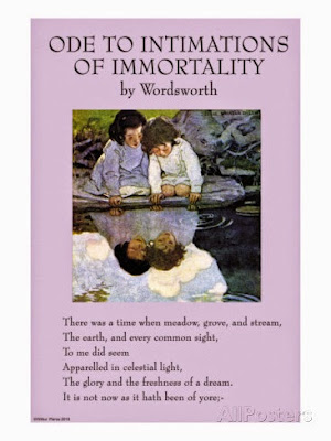 """""""Immortality :Ode """" by Wordsworth: Text"""