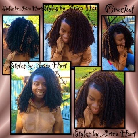 Crochet hair style