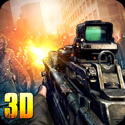 تحميل لعبة قناص بندقية Zombie Frontier 3 v2.05 مهكرة للاندرويد أموال لا تنتهي