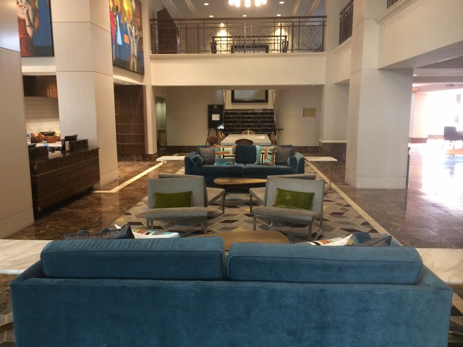 Tomorrow 39 s news today atlanta mid century themed the for Hilton hotels near mercedes benz stadium atlanta
