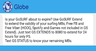 How To Extend Your Globe Surf Promo For Only 5 Pesos Howtoquick Net