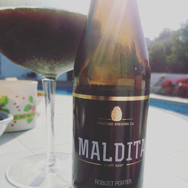 Portugal Craft Beer Review: Maldita Porter from Faustino Brewing