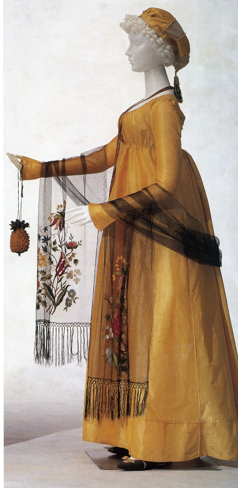 ... History Girls: Perfect Pineapple: A Knitted Regency Reticule, c 1800