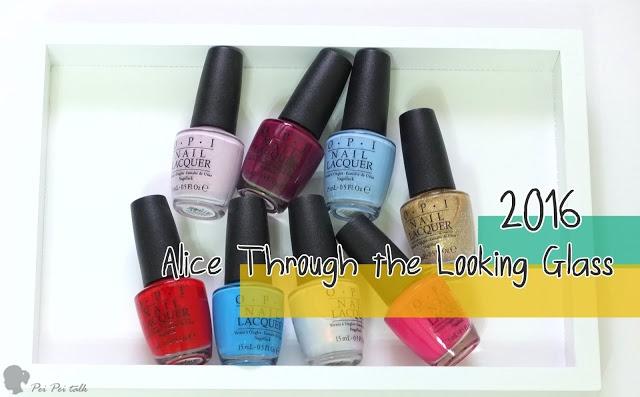 OPI指甲油-2016年愛麗絲魔境夢遊系列 Alice Through The Looking Glass-試色