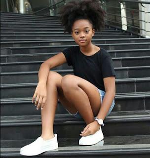 Profil Biodata dan Foto Artis Cantik Vanessa Kamga Bravo