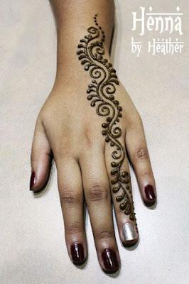 65 Easy Henna Mehndi Designs For Starters Bling Sparkle