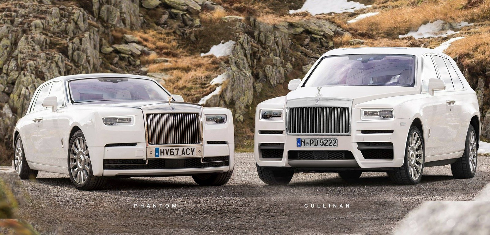 rolls royce cullinan gets rendered based on spy photos carscoops. Black Bedroom Furniture Sets. Home Design Ideas