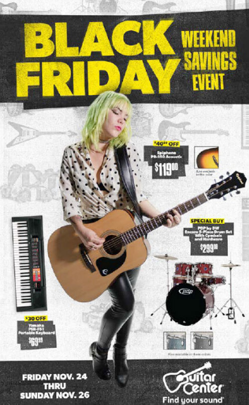 Guitar Center Black Friday 2017 Ad