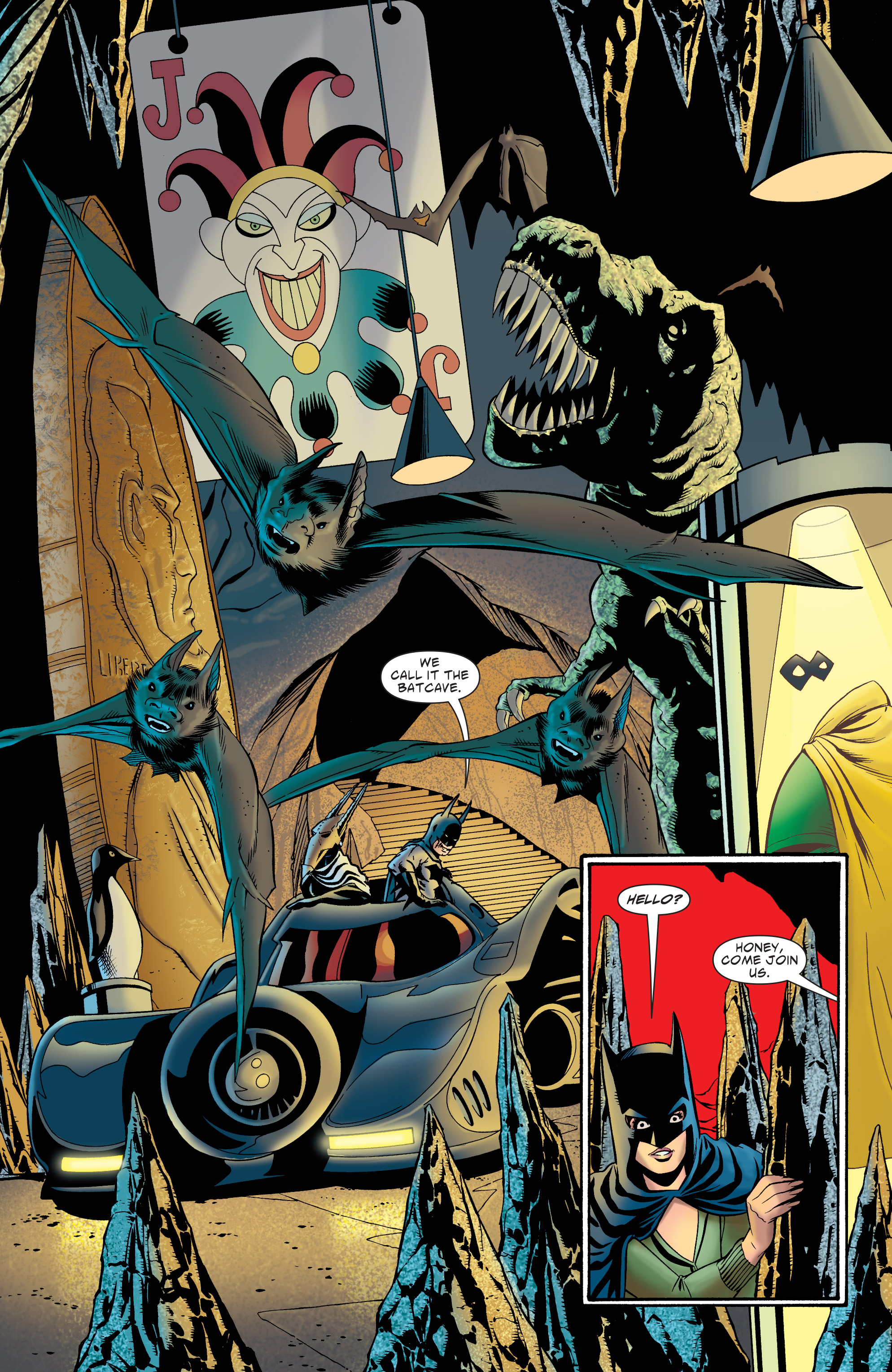 Read online Batman: The Widening Gyre comic -  Issue #6 - 40