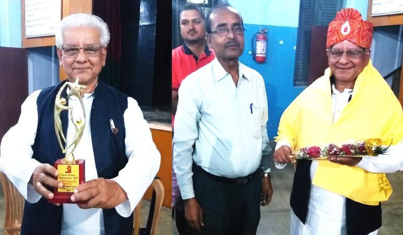 निर्देशक गंगा बाबू केर अभिनंदन ओ रंगमंच पर संगोष्ठी