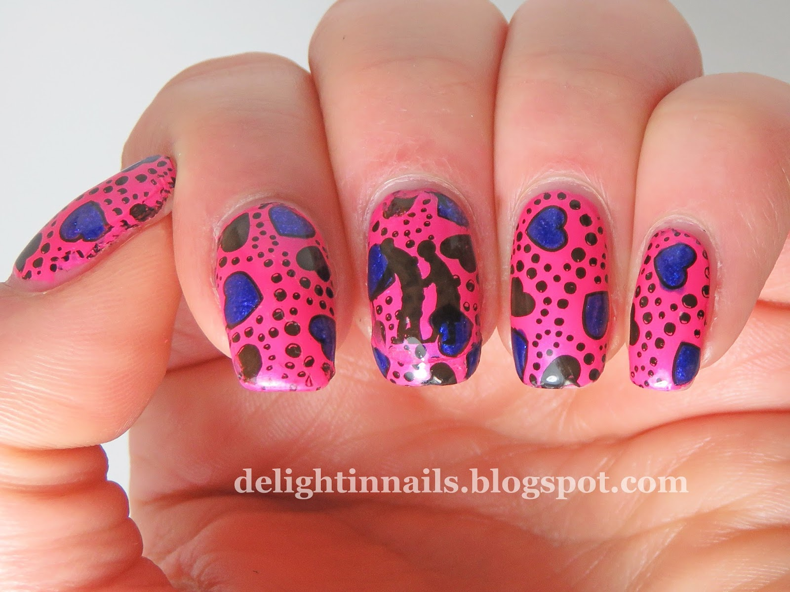 Delight In Nails: 40 Great Nail Art Ideas - Love