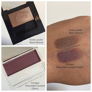 Eyeshadow Combo with Estee Lauder and Clinique