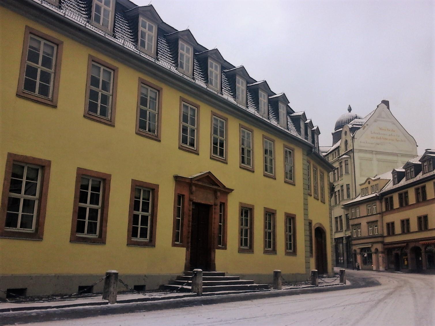 Germania visitare la casa di goethe a weimar emotion recollected in tranquillity - Casa in germania ...