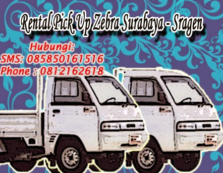 Rental Pick Up Zebra Surabaya - Sragen