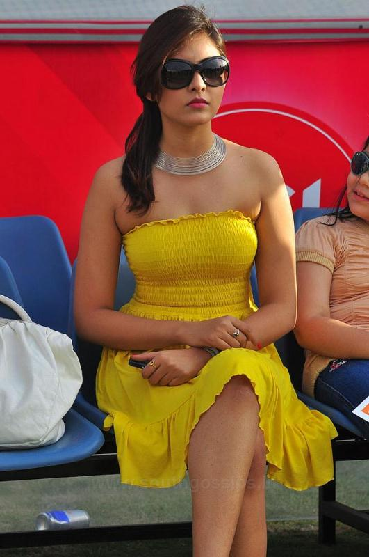Indian Actress Madhu Shalini Tamil Actress Strapless Tube -3428