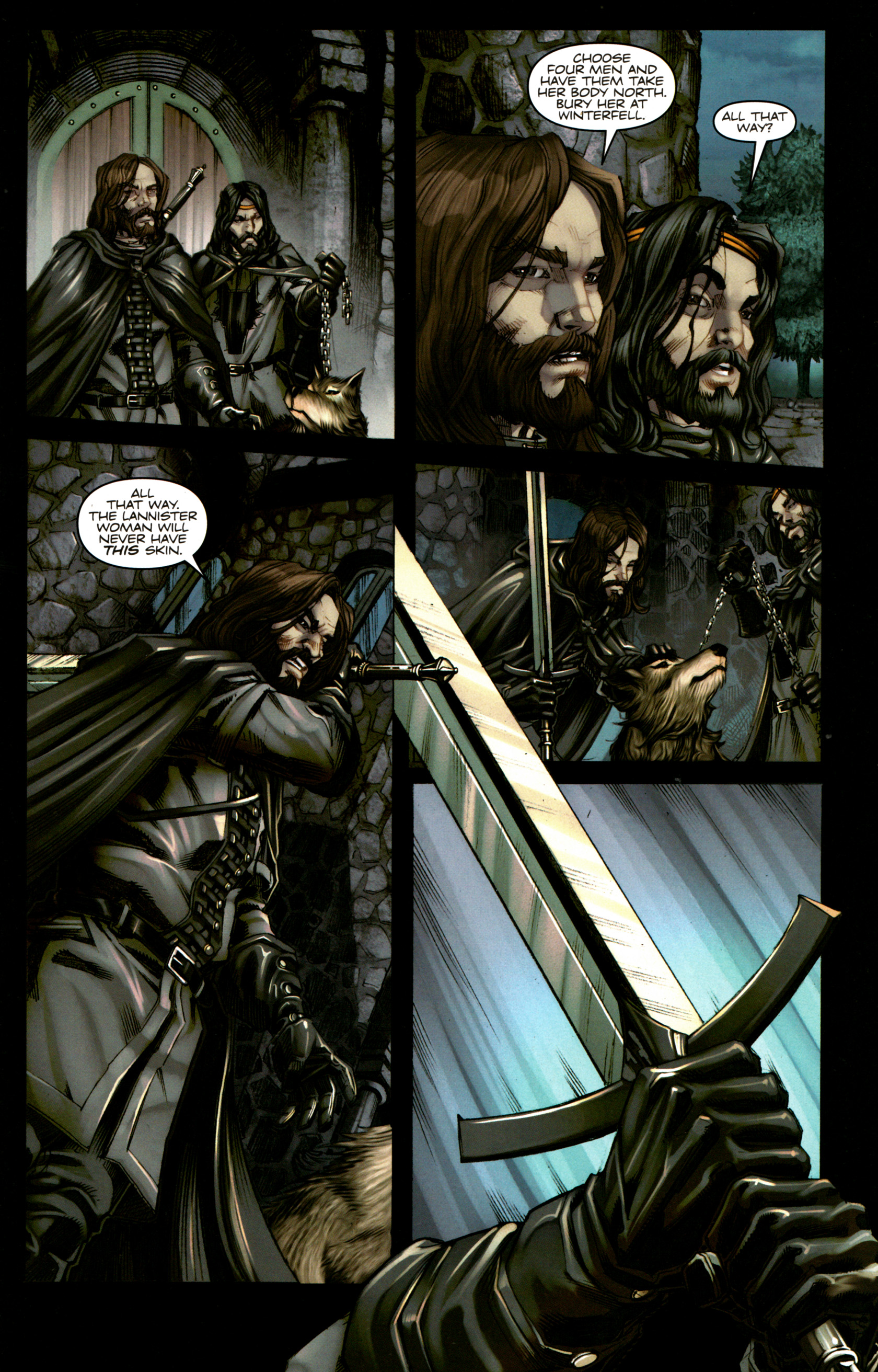 Read online A Game Of Thrones comic -  Issue #5 - 25