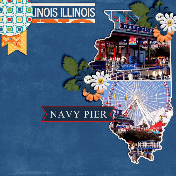 Travelogue Illinois by Connie Prince