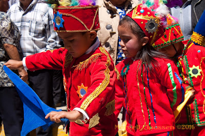 Exploring the secrets of Pallasca Province, Peru - festival dancers