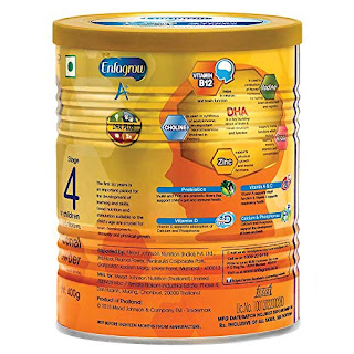 Enfagrow A+ Nutritional Milk Powder Health Drink for Children (2+ years), Chocolate 400g