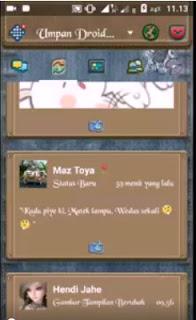 BBM Droid Chat! v12.0.25 Jeans Theme MOD APK