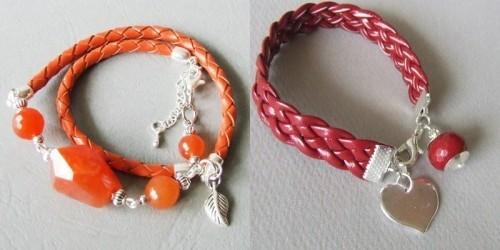 42b3dc0a9f01 Artystyczna biżuteria  Ręcznie robione bransoletki z rzemyków- mój ...