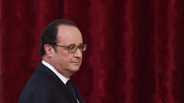 French president Francois Hollande vows to go ahead with controversial labor reforms