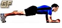 Fitness dan olah raga dirumah dengan plank