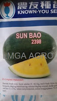 semangka sun bao, semangka tahan virus, toko pertanian on line