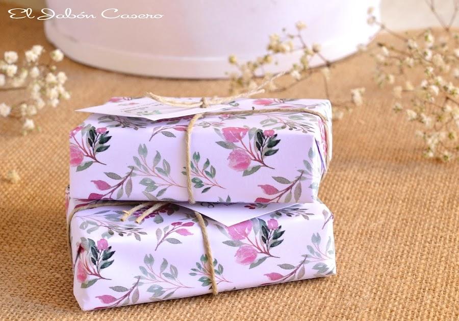 regalos para invitados bodas jabones florales