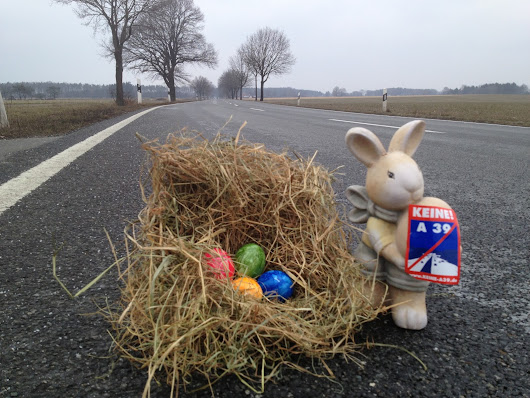 Frohe Ostern 2015 ohne A39