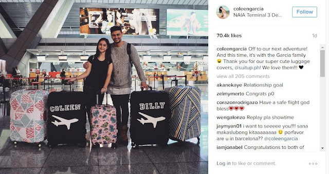 Newly Engaged Couple Coleen Garcia and Billy Crawford Go To Spain For Super Special Bonding Trip. LOOK HERE!