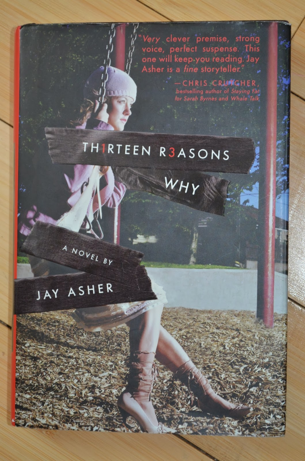 Composition Critique: 13 Reasons Why by Jay Asher